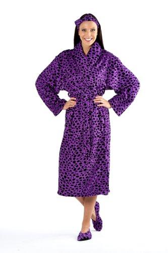 Super Soft Coral Fleece Wrap Animal Print. Slenderella Women/'s Premium Quality