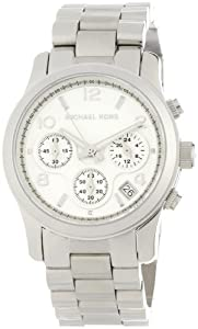 Women's Stainless Steel Quartz Chronograph Silver Tone Dial