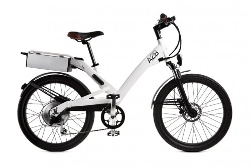 A2B Alva Plus Gloss White Electric Road Sport Bike Motor Bicycle EBike Alva+