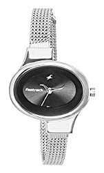 Fastrack Economy Analog Black Dial Womens Watch - NE6015SM02