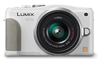 Panasonic ルミックス ミラーレス一眼カメラ ルミックス GF6 ダブルズームレンズキット 標準ズームレンズ/望遠ズームレンズ付属 ホワイト DMC-GF6W-W