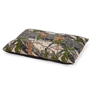 Slumber Pet Fleece Pillow Pet Bed, Large, Camo