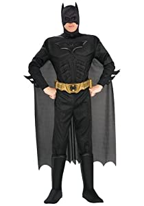 Adult Deluxe Dark Knight Batman Costume X-Small