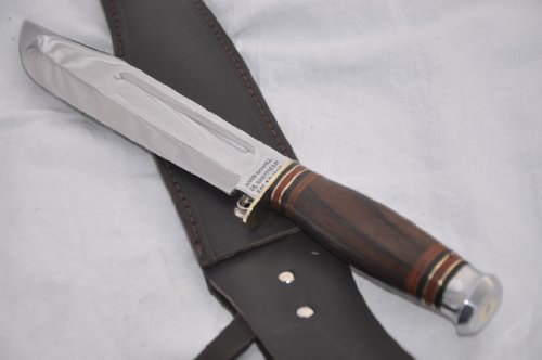 """New Hand Forged Genuine Rosewood Bowie Sheffield !! 13 """" L@@K"""