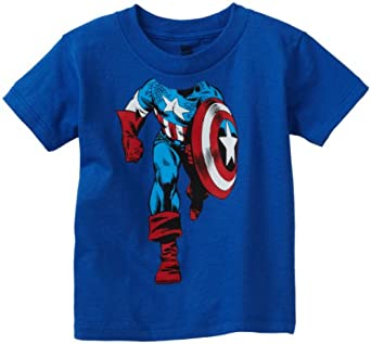Amazon Marvel Little Boys Toddler Captain America