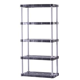 Rubbermaid 72-Inch Five-Shelf Shelving Unit