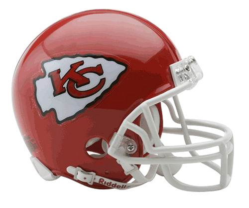 NFL Kansas City Chiefs Replica Mini Football Helmet