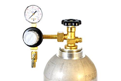 TAPRITE E-T741 Co2 Commercial Single Pressure Gauge Kegerator Regulator NEW DRAFT BEER/SODA (Co2 Gauge For Kegerator compare prices)