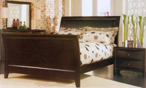 Phoenix Queen Size Sleigh Five Piece Bedroom Set
