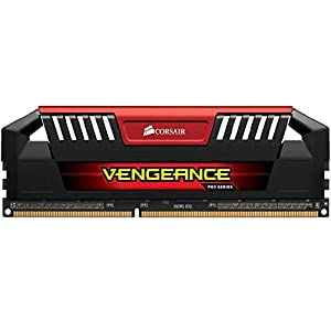 Corsair Vengeance Pro 16GB 2x8GB DDR3 2400MHz PC3 19200 Desktop, Red CMY16GX3M2A2400C11R
