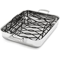 Sur La Table Tri-Ply Stainless Steel Roasting Pan 16