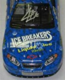 KEVIN HARVICK SIGNED ICE BREAKERS DIECAST PSA COA