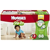 Huggies Little Movers Slip-On Diaper, Size 3, 88 Count