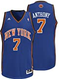 NBA New York Knicks Carmelo Anthony Swingman Jersey, Blue Mens