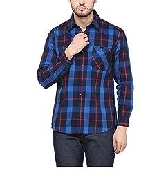 Yepme Men's Blue Cotton Shirts - YPMSHRT1135_38