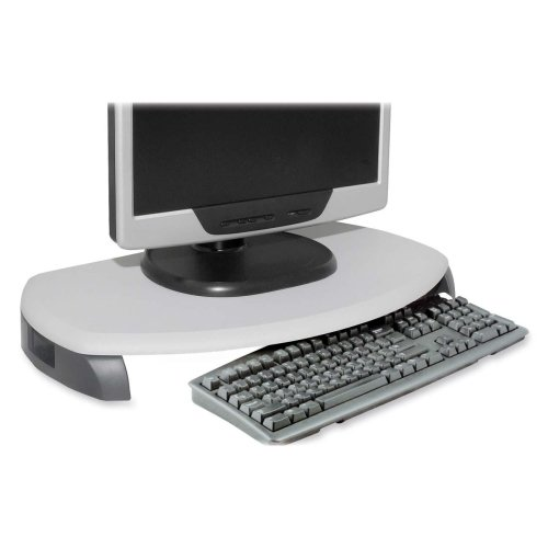 - Kantek CRT/LCD Stand w/ Keyboard Storage-Monitor Stand/Kybrd Stor.,23