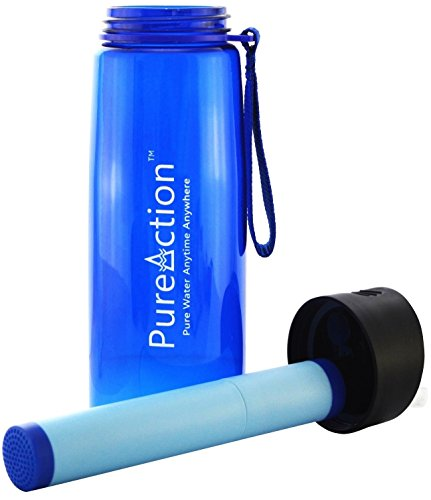 Go-Water-Bottle-with-Integrated-1500-liter-Filter-50-More-Filtration-Capacity-than-Lifestraw-Personal-Purifier-System-Perfect-for-Camping-Hiking-and-Backpacking-BPA-Free-Tritan-Blue-23-floz