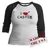 Castle style 2 Castletv Jr. Raglan by CafePress