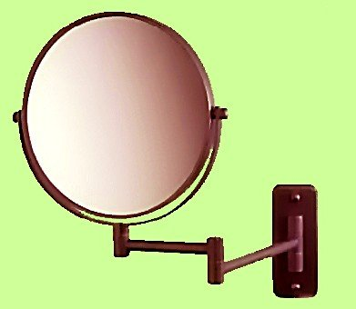 """Best Cheap Deal for SeeAll 8"""" Makeup Vanity Mirror, Oil-Rubbed Bronze, Dual Arm, Wall Mount, 7X Optics from SEEALL - Free 2 Day Shipping Available"""