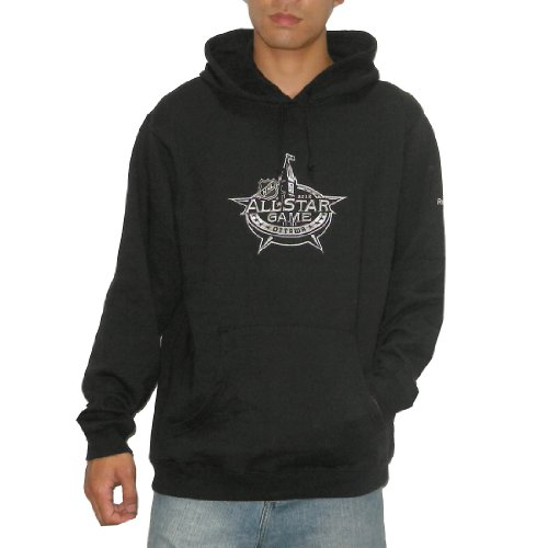 NHL 2012 All Star Game Mens Athletic Warm Pullover Hoodie / Sweatshirt Jacket with Embroidered Logo (Size: L)