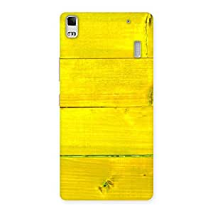 Yellow Backyard Back Case Cover for Lenovo K3 Note