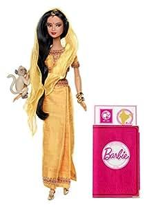 Mattel W3322 - Dolls of the World - Indien
