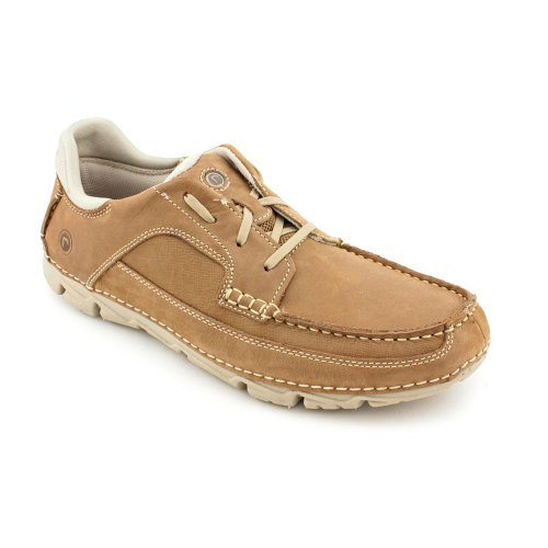 Rockport Rocsports Lite Moc Toe Oxfords Shoes Tan Mens New/Display