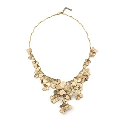 Hydrangea Collar Necklace by Michael Michaud