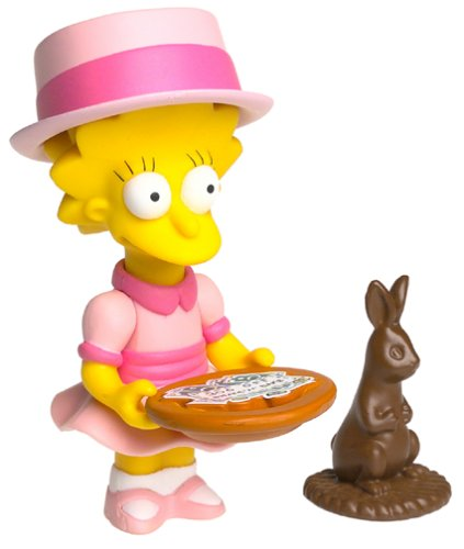 The Simpsons Series 9 Playmates Action Figure Sunday Best Lisa - 1