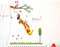 Removable Xtra Large WINNIE THE POOH Wall Stickers Nursery Girls Boys Kids Room by madebyLuv - Wall Decals