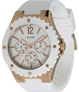 GUESS U12652L1 Feminine Sport Watch - Rose Gold