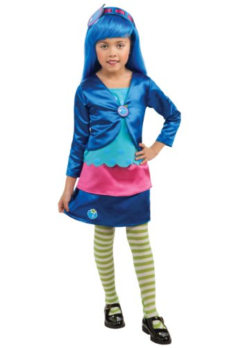 Rubies Strawberry Shortcake and Friends Deluxe Blueberry Muffin Costume
