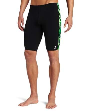 Amazon.com : TYR Sport Men's Universe Splice Jammer, Green, 30