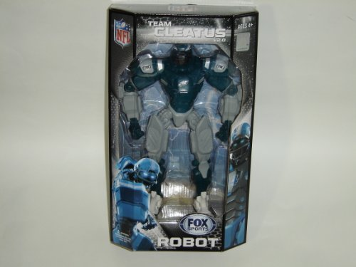 "NFL Philadelphia Eagles 10"" Team Cleatus FOX Robot Action Figure Version 2.0"