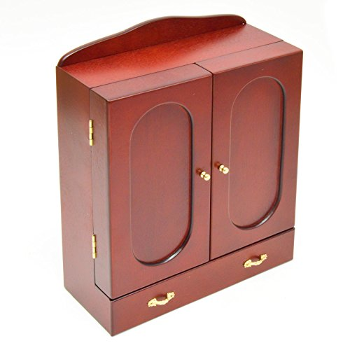 cherry-wood-jewellery-armoire-storage-cupboard-with-mirror-and-sectioned-drawer