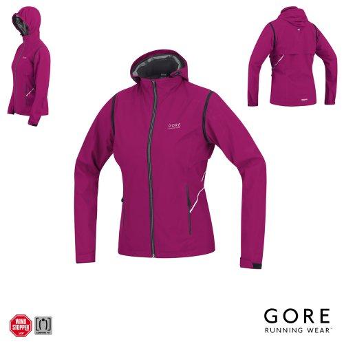 Gore Essential Womens Windstopper Zip Running Jacket