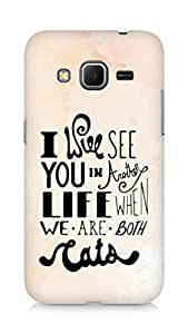 AMEZ i will see you in another life Back Cover For Samsung Galaxy Core Prime