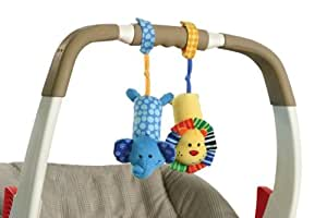 infantino tag a long chimes elephant and lion discontinued by manufacturer baby. Black Bedroom Furniture Sets. Home Design Ideas