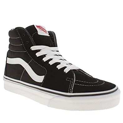 Vans Sk8-hi Suede - 8 Uk - Black & White - Suede