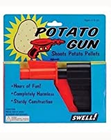 Potato Gun Toy Spud Gun - The Original Vintage Nostalgic Toy Gun