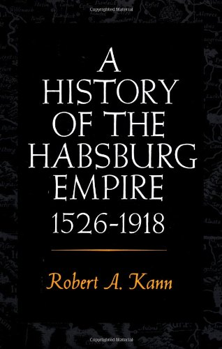 A History Of The Habsburg Empire, 1526-1918 front-949062