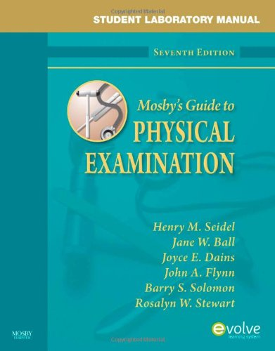 Student Laboratory Manual for Mosby's Guide to Physical...