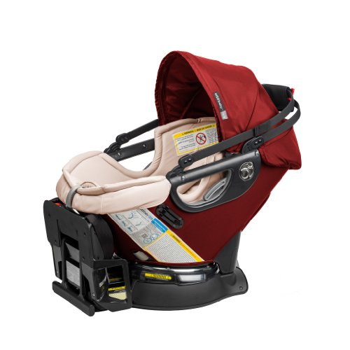 Orbit Baby G3 Infant Car Seat Plus Base, Ruby front-745294