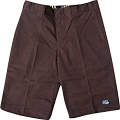 Buy Anti Hero Dickies Triad Shorts 28 Brown Skate Shorts by Anti Hero Skateboards