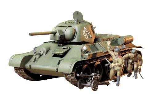 タミヤ 1/35 ミリタリーミニチュアシリーズ No.149 ソビエト T34/76 戦車 1943年型 チェリヤビンスク 35149