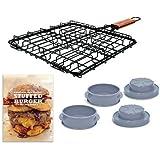 Stuffed Burger Set Essential Grilling Kit (Includes Recipe Book)