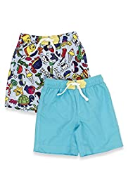 2 Pack Assorted Swim Shorts