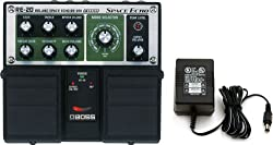 Boss RE-20 Space Echo Delay / Reverb Pedal with Power Supply from Boss