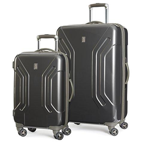 travelpro-inflight-lite-hardside-spinner-2-piece-set-20-28-gunmetal-gray