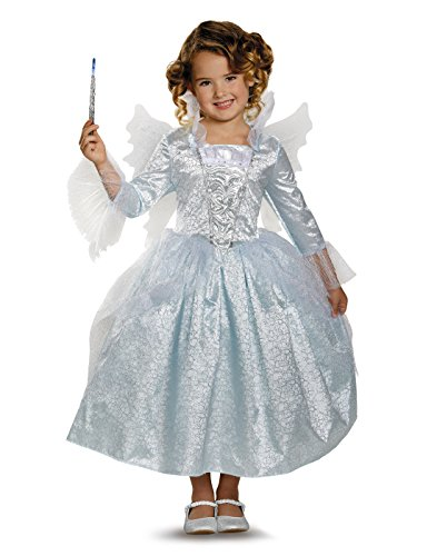 Disney Cinderella Movie: Deluxe Toddler Fairy Godmother Costume - XS (3T-4T)